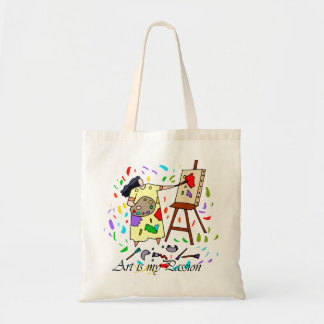 ART IS MY PASSION TOTE BAG