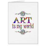 Art is My World Card