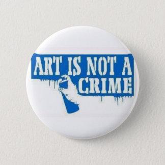 Art is Not a Crime Button