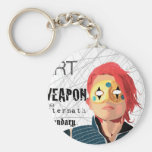 Art is the Weapon Keychain
