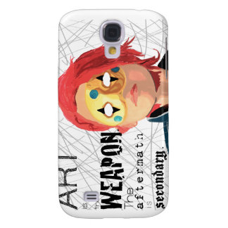 Art is the Weapon Samsung S4 Case