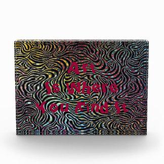 Art Is Where You Find It Mandala Pattern Design Award