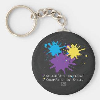 Art Isnt Cheap Keychain