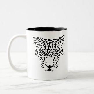 Art-Jaguar Two-Tone Coffee Mug