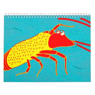 art japan illustration calendar