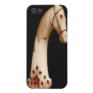 Art Jeweled Ivory Horse Head iPhone 4 Speck Case