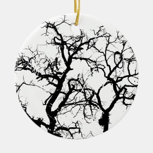 Art.jpg Double-Sided Ceramic Round Christmas Ornament