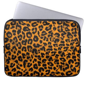 Art leopard fur 11 laptop sleeve