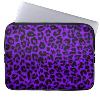 Art leopard fur 6 laptop sleeve