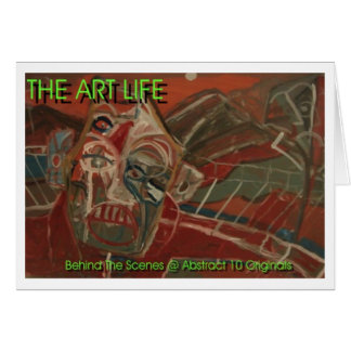 art life flyer greeting card