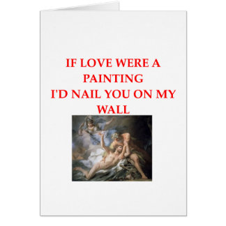 art lovers card