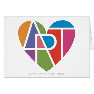 Art Lover's Heart® Card