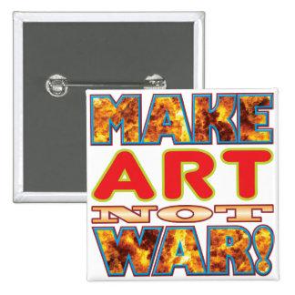 Art Make X 2 Inch Square Button