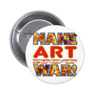 Art Make X 2 Inch Round Button