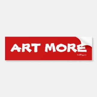 ART MORE Bumper Sticker Car Bumper Sticker
