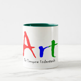 Art Two-Tone Coffee Mug