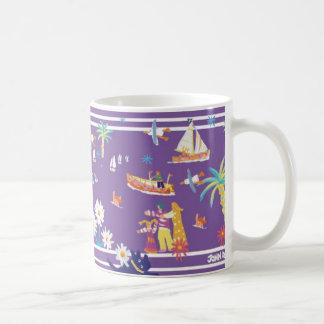 Art Mug: Helford Passage Cornwall. Classic White Coffee Mug