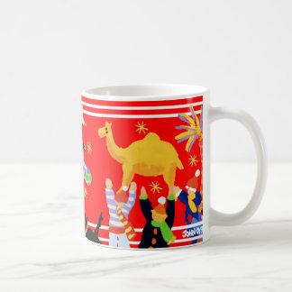 Art Mug: John Dyer Christmas Art Mug. Red