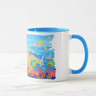Art Mug: Summertime Days, St Ives, Cornwall Mug