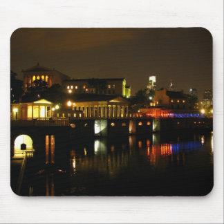 Art Museum at Night Mousepad