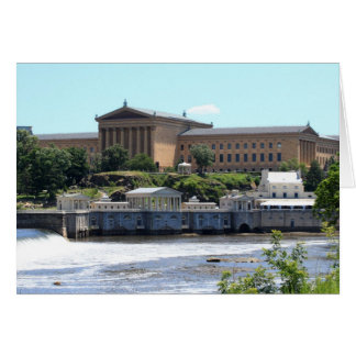 Art Museum & Waterworks Stationery Note Card
