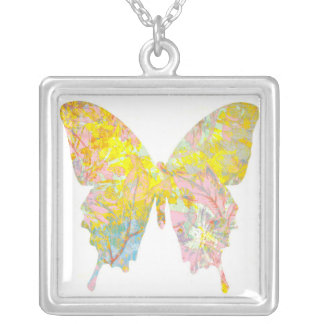 Art Necklace Butterfly