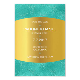 Art Niveous  Save The Date GoldenMint Vip Card