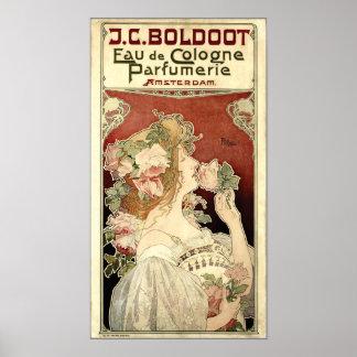 Art Nouveau 1897 Ad by Privat-Livemont Poster