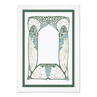 Art Nouveau 1920s Vintage-Themed Frame Card