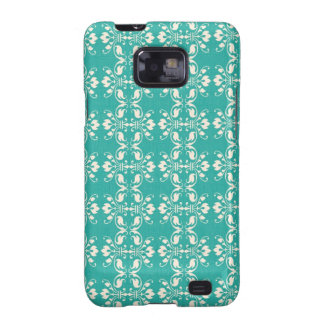 Art Nouveau Abstract Floral Samsung Galaxy SII Covers