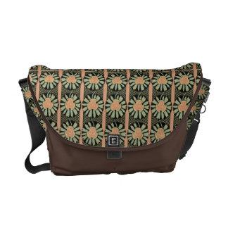 Art Nouveau Abstract Floral Messenger bag
