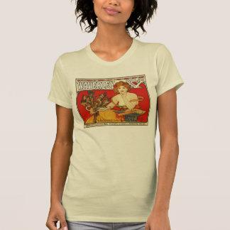 Art Nouveau Alfons Mucha,  British bicycles ad T-Shirt