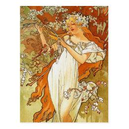 Art Nouveau Postcards | Zazzle
