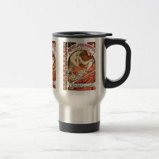 Art Nouveau - Alphonse Mucha Travel Mug