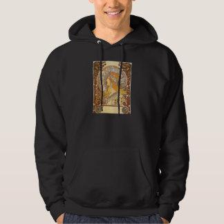 Art Nouveau Alphonse Mucha Zodiac Hoodie