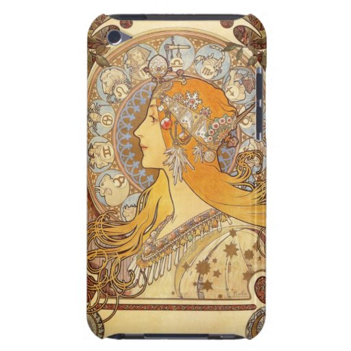 Art Nouveau Alphonse Mucha Zodiac iPod Touch Case