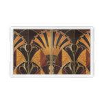art Nouveau,art deco, vintage, multi wood colours, Acrylic Tray