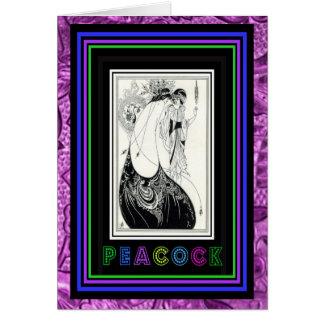 Art Nouveau ~ Aubrey Beardsley Card