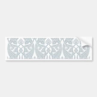 Art Nouveau Background Bumper Stickers