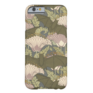 Art Nouveau Bats and Lillies Barely There iPhone 6 Case