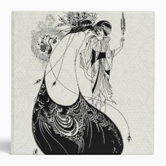 Art Nouveau Beardsley Peacock Skirt Binder