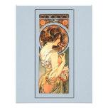 Art Nouveau Beautiful Bride Shower Invitation