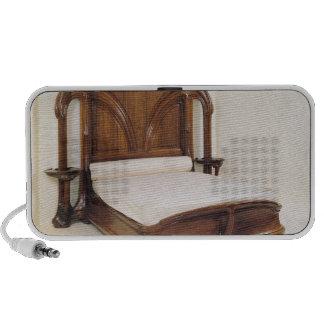 Art Nouveau bed, 1900 Laptop Speakers