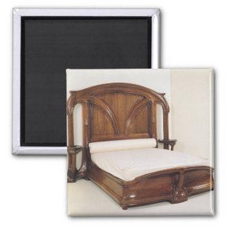 Art Nouveau bed, 1900 Magnet