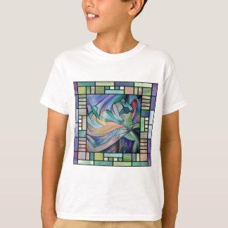 Art Nouveau Bellydance (Square) T-Shirt