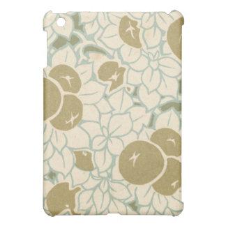 art nouveau berries fruit pern iPad mini cover