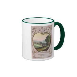 Art Nouveau Birthday Valley Vignette Coffee Mug