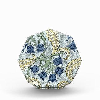 Art nouveau bluebells acrylic award