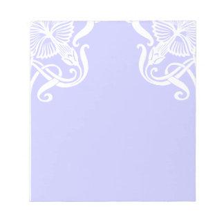 Art Nouveau Border Notepad