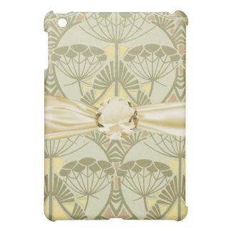 art nouveau botanical nature design iPad mini case